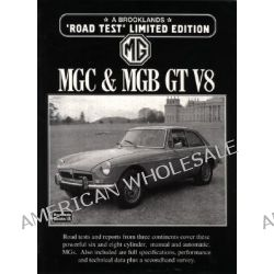 MG, MGC and MGB GT V8 Road Test by R. M. Clarke, 9781855203631.