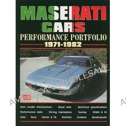 Maserati Cars Performance Portfolio 1971-1982 by R. M. Clarke, 9781855206007.