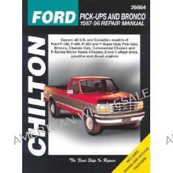 Ford Pick-ups and Bronco (1987-96), Pick-Ups and Bronco 1987-96 Repair Manual by Chilton Automotive Books, 9780801988288.