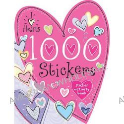 1000 Stickers I Love Hearts by Make Believe Ideas, 9781782358961.