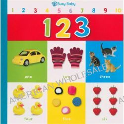 123, Giant Books - Busy Baby by Castle Street Press, 9781780658407.
