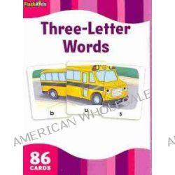 3 Letter Words, Flash Kids Flash Cards by Flash Kids Editors, 9781411434967.