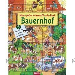 Bücher: Mein großes Wimmel-Puzzle-Buch - Bauernhof