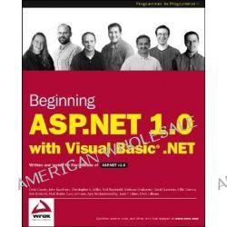 Beginning ASP.NET 1.0 by C. Birdwell, 9780764543692.