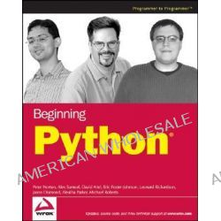 Beginning Python by Peter C. Norton, 9780764596544.