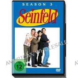 Film: Seinfeld - Season 3 - Neuauflage  von Andy Ackerman,Jason Alexander,Tom Cherones,David Steinber mit Jerry Seinfeld,Julia Louis-Dreyfus,Michael Richards,Jason Alexander,Richard Fancy