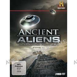 Film: Ancient Aliens - Unerklärliche Phänomene - Staffel 2  mit Robert Clotworthy,Jonathan Young