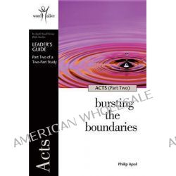 Acts - Part Two, Bursting the Boundaries by Crc Publications, 9781562128272.