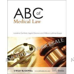 ABC of Medical Law, ABC Series by Lorraine Corfield, 9781405176286.