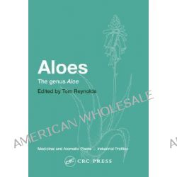 Aloes, The Genus Aloe by Tom Reynolds, 9780415306720.
