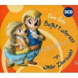 Dwa jeże. Bajki i wiersze. Książka audio na 3CD (CD)