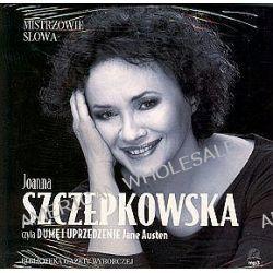 """Joanna Szczepkowska czyta """"Dumę i uprzedzenie"""" Jane Austen - książka audio na 1 CD (CD) - Jane Austen"""
