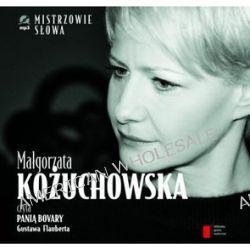 Pani Bovary - Małgorzata Kożuchowska - audiobook (CD) - Gustaw Flaubert