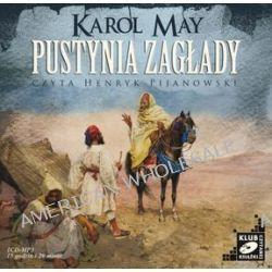 Pustynia zagłady - książka audio na CD (CD) - Karol May