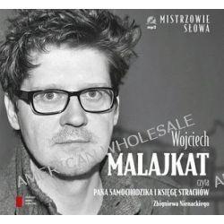 """Wojciech Malajkat czyta """"Pana Samochodzika i księgę strachów"""" Zbigniewa Nienackiego - książka audio na CD (druk/CD) - Zbigniew Nienacki"""