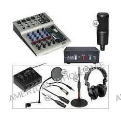 Audio-Technica THE TWO PERSON Audio Podcast Kit with Land Line