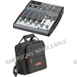 Behringer XENYX 802 8-Channel Mixer with Padded Bag Kit B&H