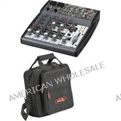 Behringer XENYX 1002 10-Channel Mixer with Padded Bag Kit B&H