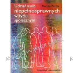 Udział osób niepełnosprawnych w zyciu społecznym - Hanna Żuraw