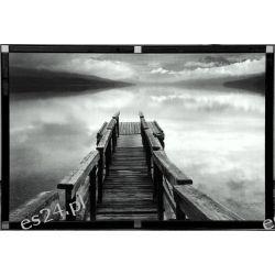 nowoczesny obraz, fotografia artystyczna, motyw natury, wejście do wody, 00657