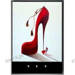 nowoczesne obrazy, motyw, buty, szpilki, IG 3210 E