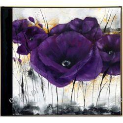nowoczesny obraz, motyw kwiatowy, maki, IG 3995