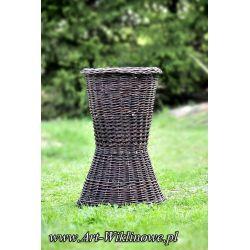 donica ogrodowa doniczka z wikliny wiklinowa