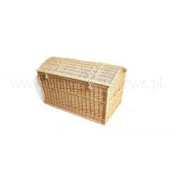 Kufer z wikliny ogromny piracki 56x54x90 cm !