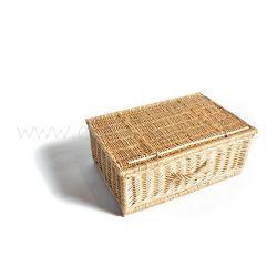 Skrzynia walizka z wikliny wiklinowa 25x60x40 cm !