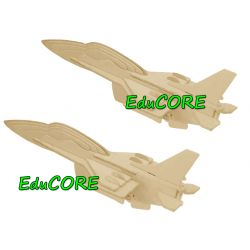 F-16 SOKÓŁ puzzle drewniane model 3D zd801 EduCORE