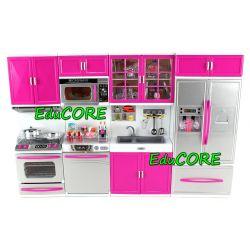 KUCHNIA 4 moduły kpl meble Barbie światło EduCORE