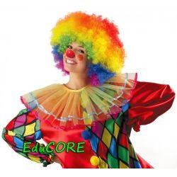 KLAUN PAJAC czerwony nos kostium strój EduCORE