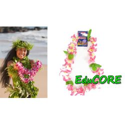 Hawaje NASZYJNIK Aloha róż kostium strój EduCORE