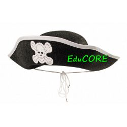 PIRAT PIRATKA kapelusz kostium strój  EduCORE