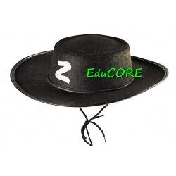 ZORRO SZERMIERZ kapelusz kostium strój  EduCORE