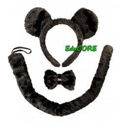 Mysz myszka MIKI opaska ogon strój kostium EduCORE