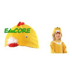 KURCZAK ptak KANAREK czapka strój kostium EduCORE