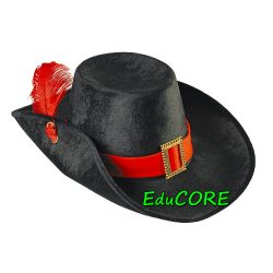 MUSZKIETER kapelusz rycerz kostium strój  EduCORE