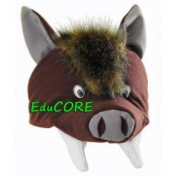DZIKI DZIK ODYNIEC czapka kapelusz kostium EduCORE