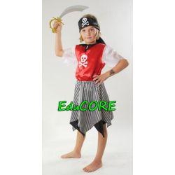 PIRATKA Królowa Oceanów kostium 134/140 EduCORE