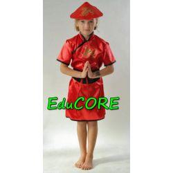 CHINKA AZJATKA SMOKI kostium strój 134/140 EduCORE