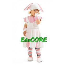 KRÓLICZEK sukienka kostium strój 134/140 EduCORE