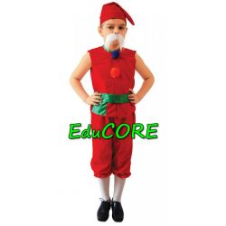 KRASNAL skrzat KRASNOLUDEK kostium 134/140 EduCORE
