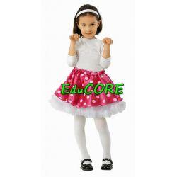 Spódniczka tiul MYSZK strój kostium 128 cm EduCORE
