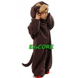 PIES brązowy piesek  strój kostium 134/140 EduCORE