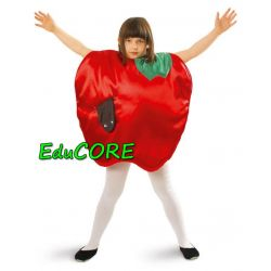 JABŁKO jabłuszko OWOC kostium 134/140 EduCORE