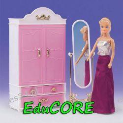 SZAFA GARDEROBA mebelki lalka Barbie 9509 EduCORE