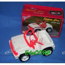 AUTO SPORTOWE Cabrio mebelki BARBIE ee569 EduCORE