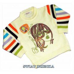 PENGUEN for KIDS Sweter z cekinami116(6/7L) Rozmiar 128-134