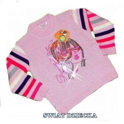 PENGUEN for KIDS Sweter z cekinami128(8/9L)
